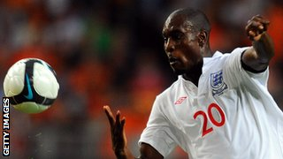 Carlton Cole has played seven times for England