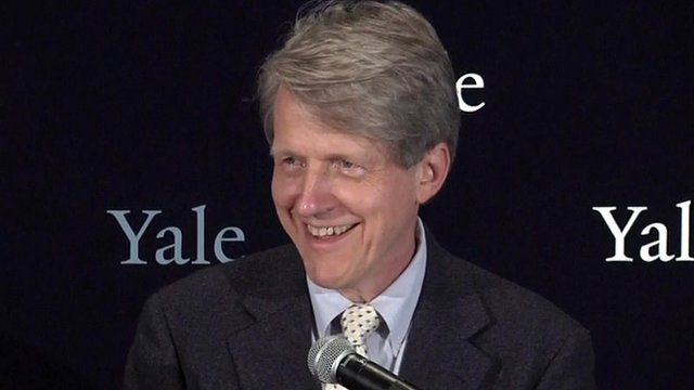 Professor Robert Shiller, co-winner of the Nobel Prize in economics
