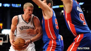 Brooklyn Nets power forward Mason Plumlee
