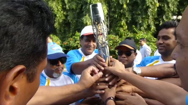 The baton in Bangladesh