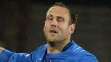 Glenavon's Guy Bates scored a hat-trick against Portadown
