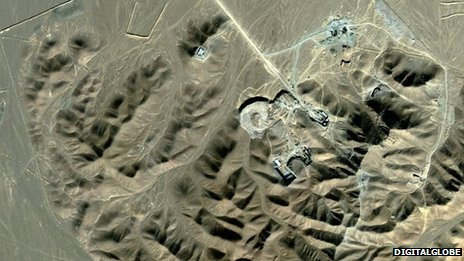 Fordo enrichment facility near Qom (2009)