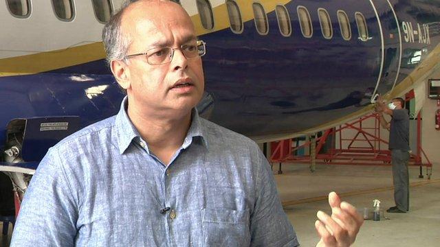 Birendra Bahadur Basnet, owner Buddha air