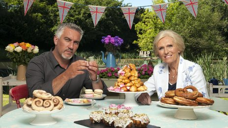 Paul Hollywood and Mary Berry: The Great British Bake Off