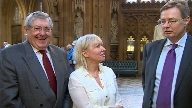 Brian Binley, Nadine Dorries and Gary Streeter