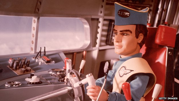 A puppet from the Thunderbirds (c) Getty Images