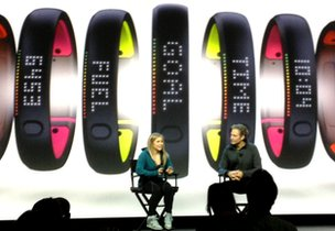 Nike shows off new Fuelband