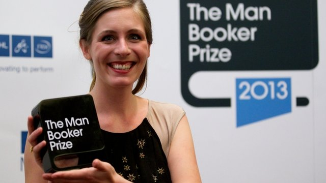 Eleanor Catton, Man Booker Prize winner