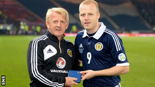 Gordon Strachan and Steven Naismith