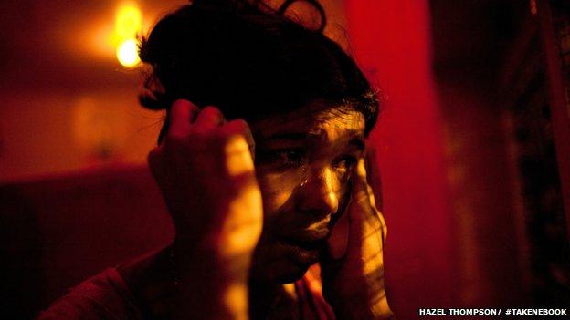 A sex worker in Mumbai
