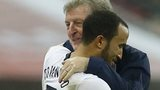 England manager Roy Hodgson with Andros Townsend