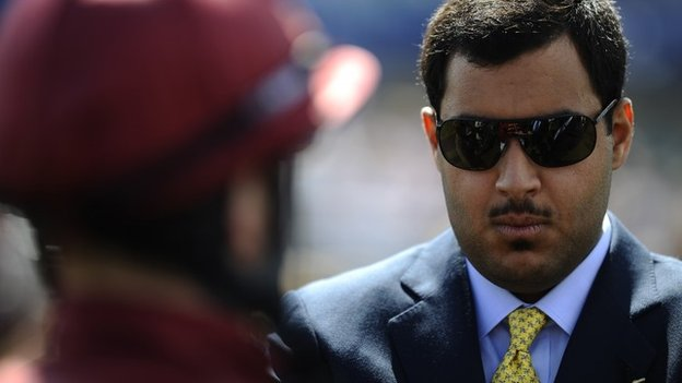 Sheikh Fahad Al Thani, of Qatar Racing