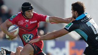 Matt Giteau is one of Toulon's international stars