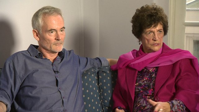 Martin Sixsmith and Philomena Lee