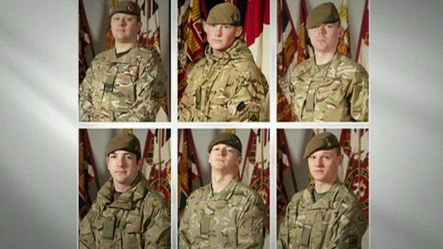British soldiers killed in Afghanistan