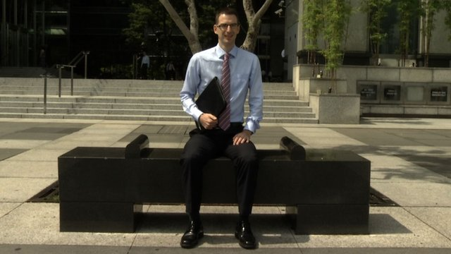 Chris Gill, expat in Singapore