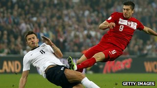 England midfielder Michael Carrick