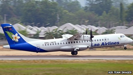 A Lao Airlines ATR 72 - file photo, copyright Air Team Images