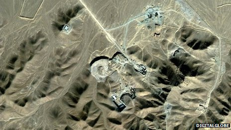 The Fordo facility near Qom