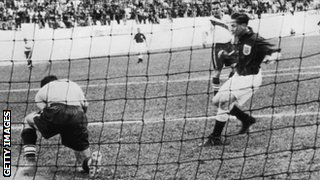 England v USA at the 1950 World Cup
