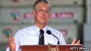 Former Prime Minister Goh Chok Tong