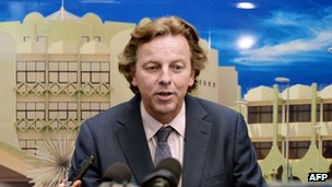 Bert Koenders, the UN's special representative to Mali,