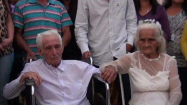 Jose Manuel Riella and Martina Lopez