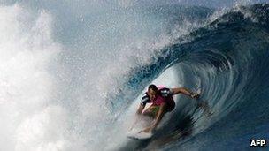Australian surfer Joel Parkinson