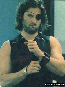 Kurt Russell and Snake Plissken