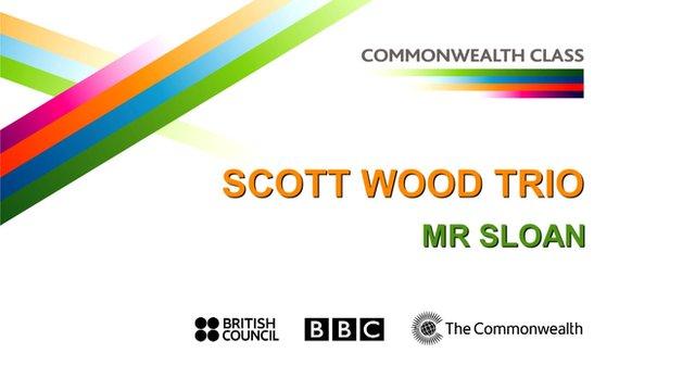 Scot Wood Trio perform Mr Sloan