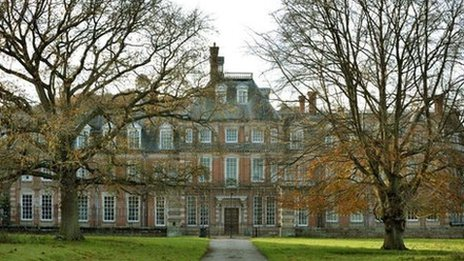 Outside view of Kinmel Hall