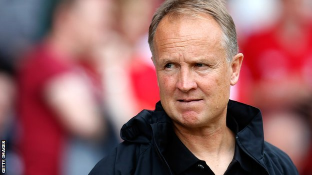 Bristol City head coach Sean O'Driscoll