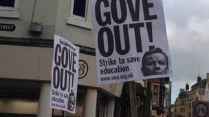 Oxford placards