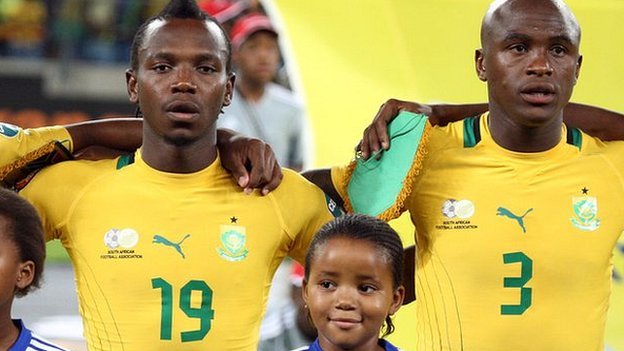 South Africa internationals May Mahlangu and Tsepo Masilela