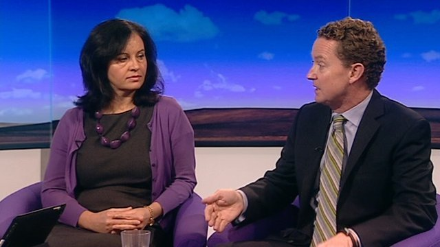 Caroline Flint and Greg Barker