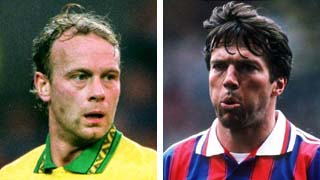 Jeremy Goss and Lothar Matthaus
