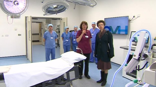 Princess Royal at Queen Victoria Hospital