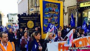 Durham march