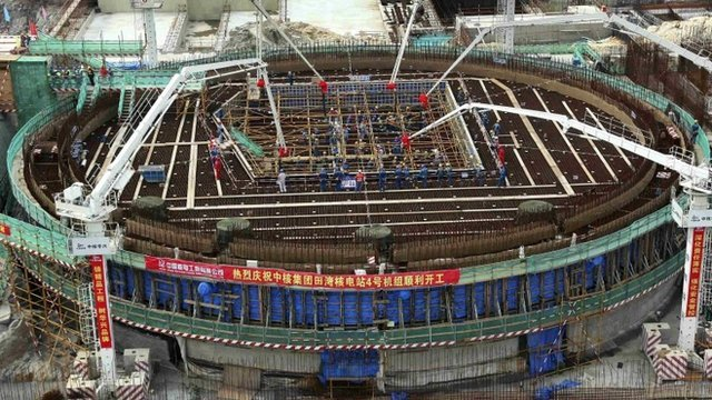 4th unit of Tianwan Nuclear Power Plant in Lianyungang