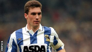 Nigel Pearson in his playing days for Sheffield Wednesday