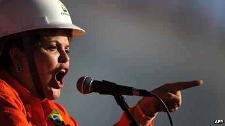 President Dilma Rousseff, 11 Sep 13