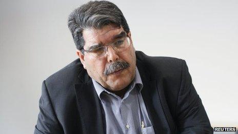 Salih Muslim (18 April 2013)