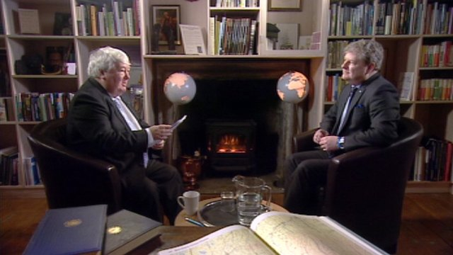 Brian Taylor and Angus Robertson