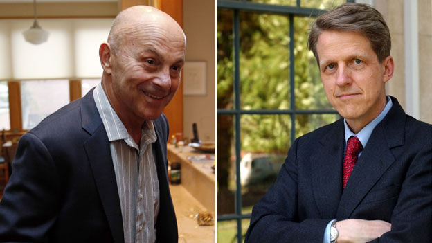 Eugene Fama and Robert Shiller