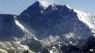 Mount Everest (file image)