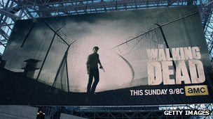 Walking Dead billboard