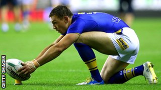 England and Wigan's Kevin Sinfield