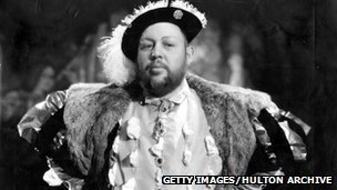 Charles Laughton as Henry VIII
