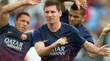 Barcelona's Lionel Messi looks set to return from injury