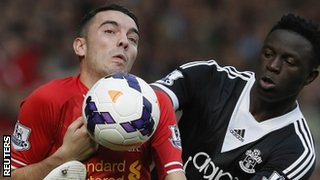Liverpool forward Iago Aspas